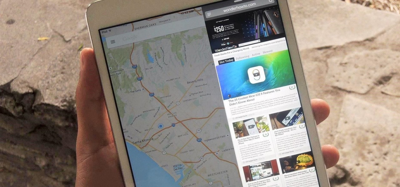 Run Two Apps Side by Side on Your iPad in iOS 9