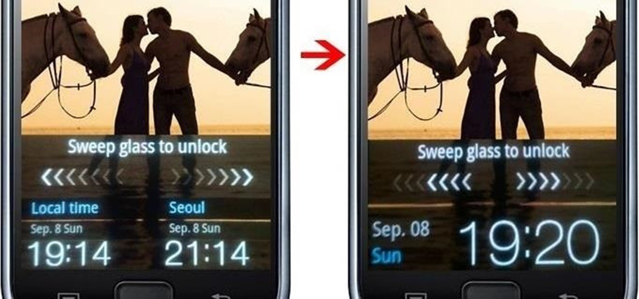 Remove Seoul Clock from Korean Anycall Galaxy S [SHW-M110S]