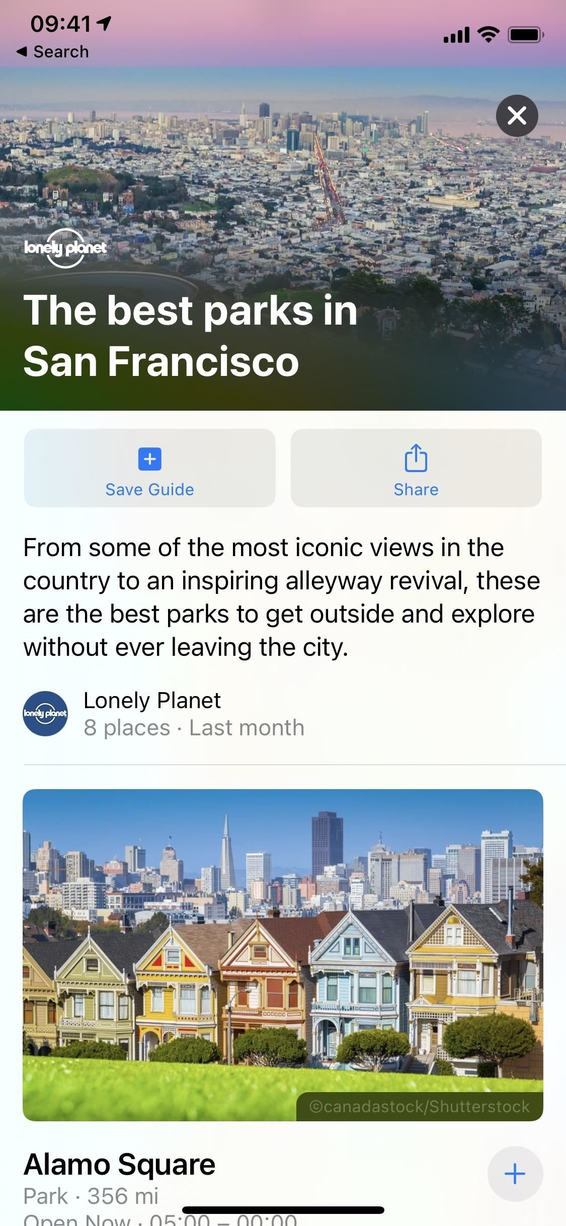 See Nearby Recommendations from Brands via Curated City Guides in iOS 14's Apple Maps