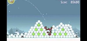 Get three stars on level 25 of Angry Birds Seasons