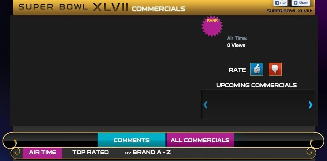 How to Watch the 2013 Super Bowl XLVII Commercials Live Online