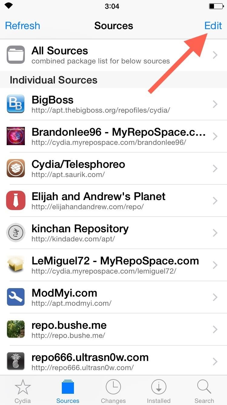 How to Add a New Source to Cydia on Your Jailbroken iOS Device