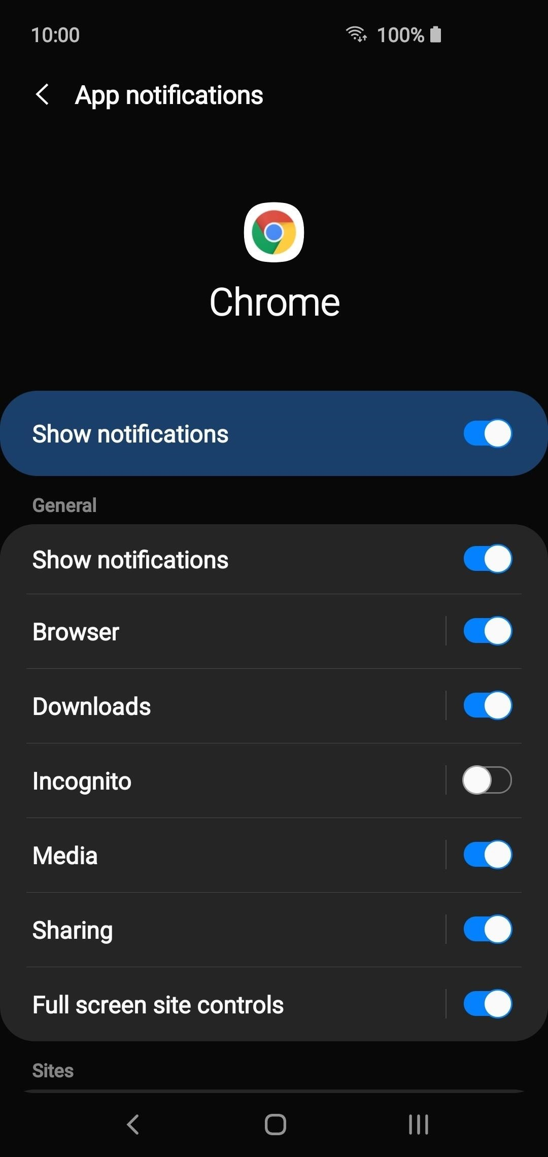 Disable notifications from individual apps on your Android phone