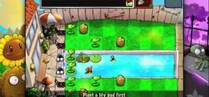 Beat level 3-5 of Plants vs Zombies HD for the iPad