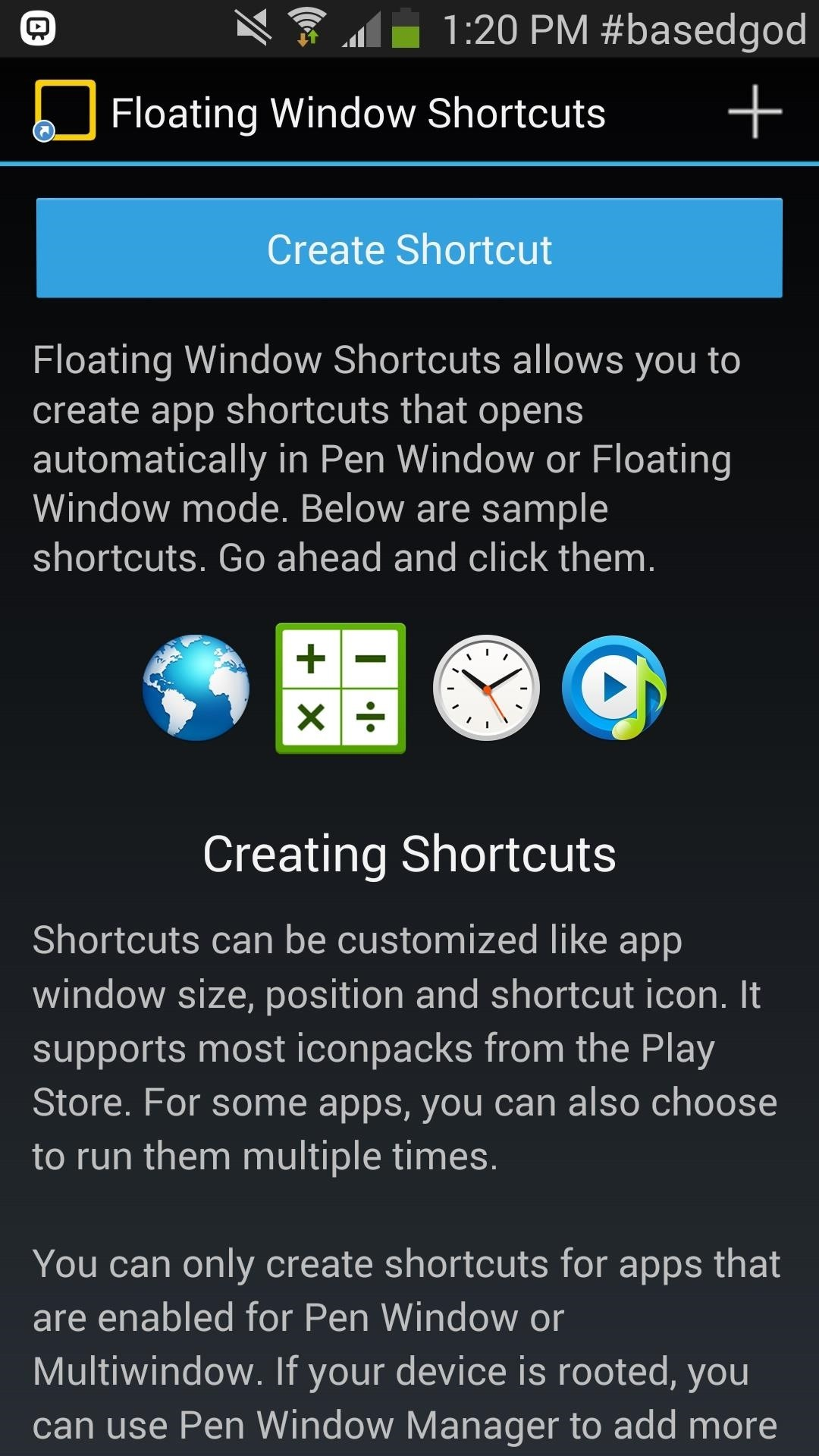 How to Create Pen Window App Shortcuts on Your Galaxy Note 3 Without Using the S Pen
