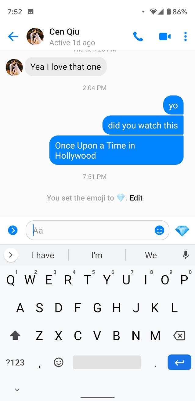Keep Your Favorite Emoji Pinned for Quick Access in Facebook Messenger Lite Chats