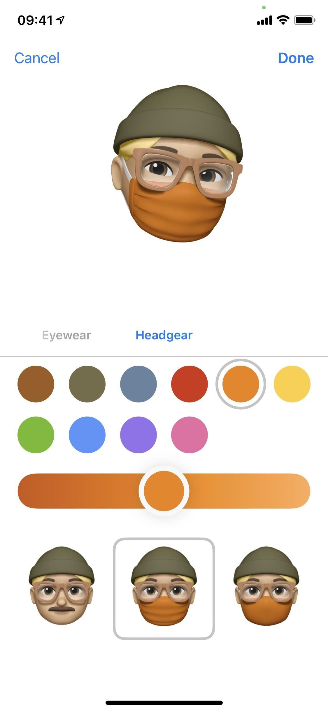 iOS 14 Lets Your Memoji Wear Surgical Masks & Cloth Face Coverings of Any Color