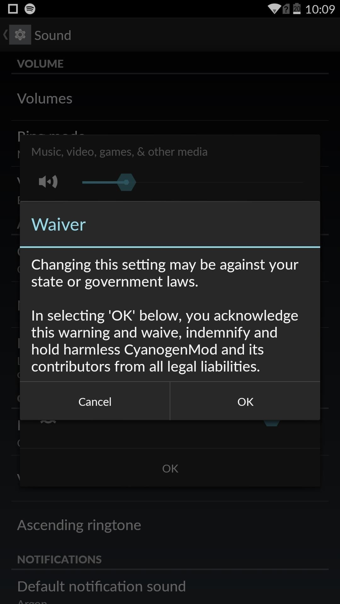 "Disable the ""High Volume"" Warning on Your OnePlus One"