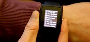 Hacked Wristwatch Connects to Facebook