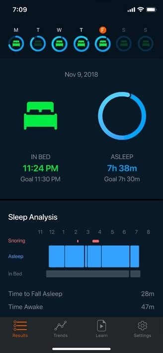 Here's how to track sleep activity in Apple's health program for iPhone