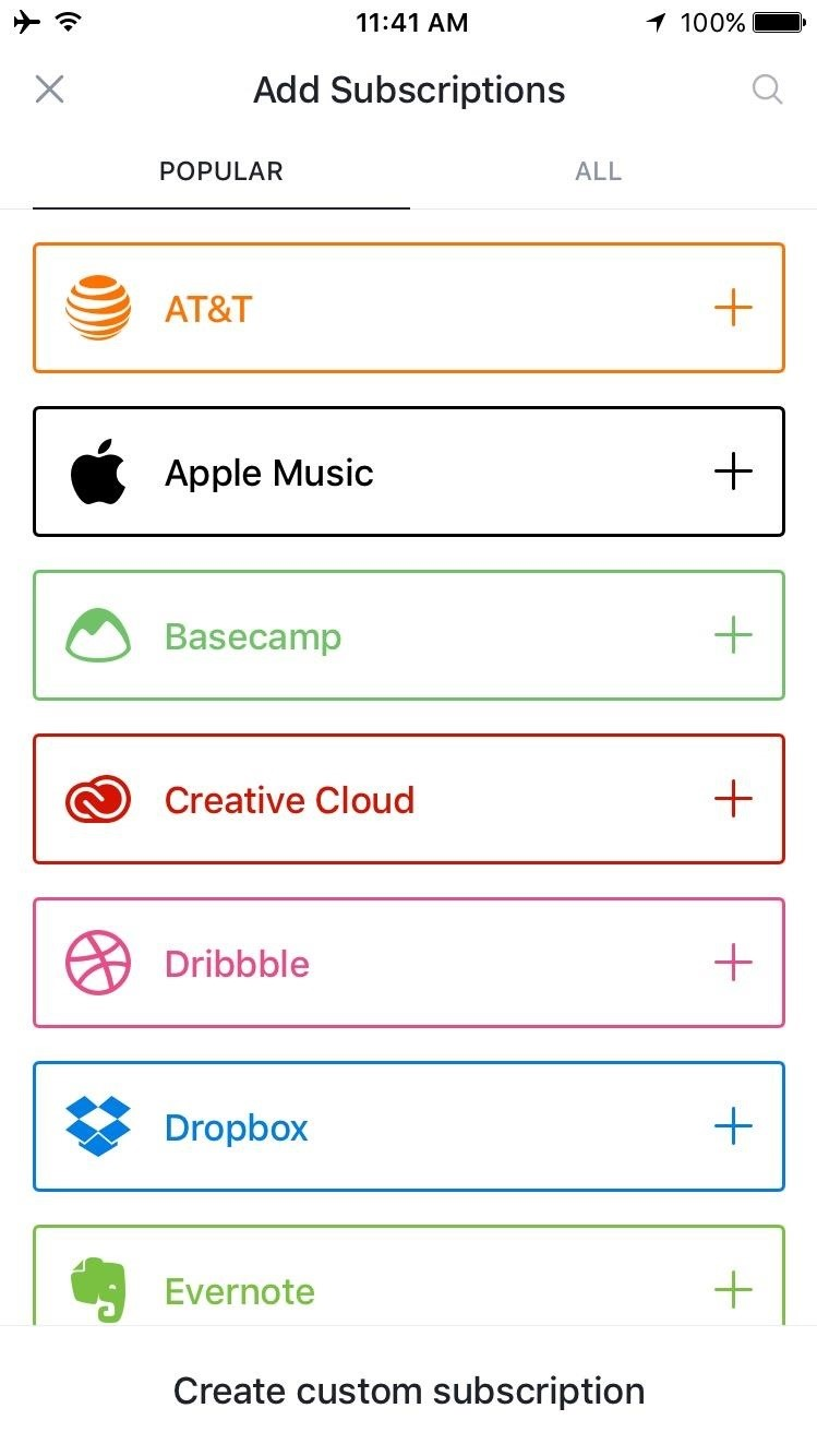 Keep Track of What You Spend on Spotify, Netflix, & Other Online Subscriptions Using Your iPhone
