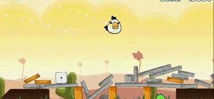 Beat Angry Birds level 3-15 with three stars