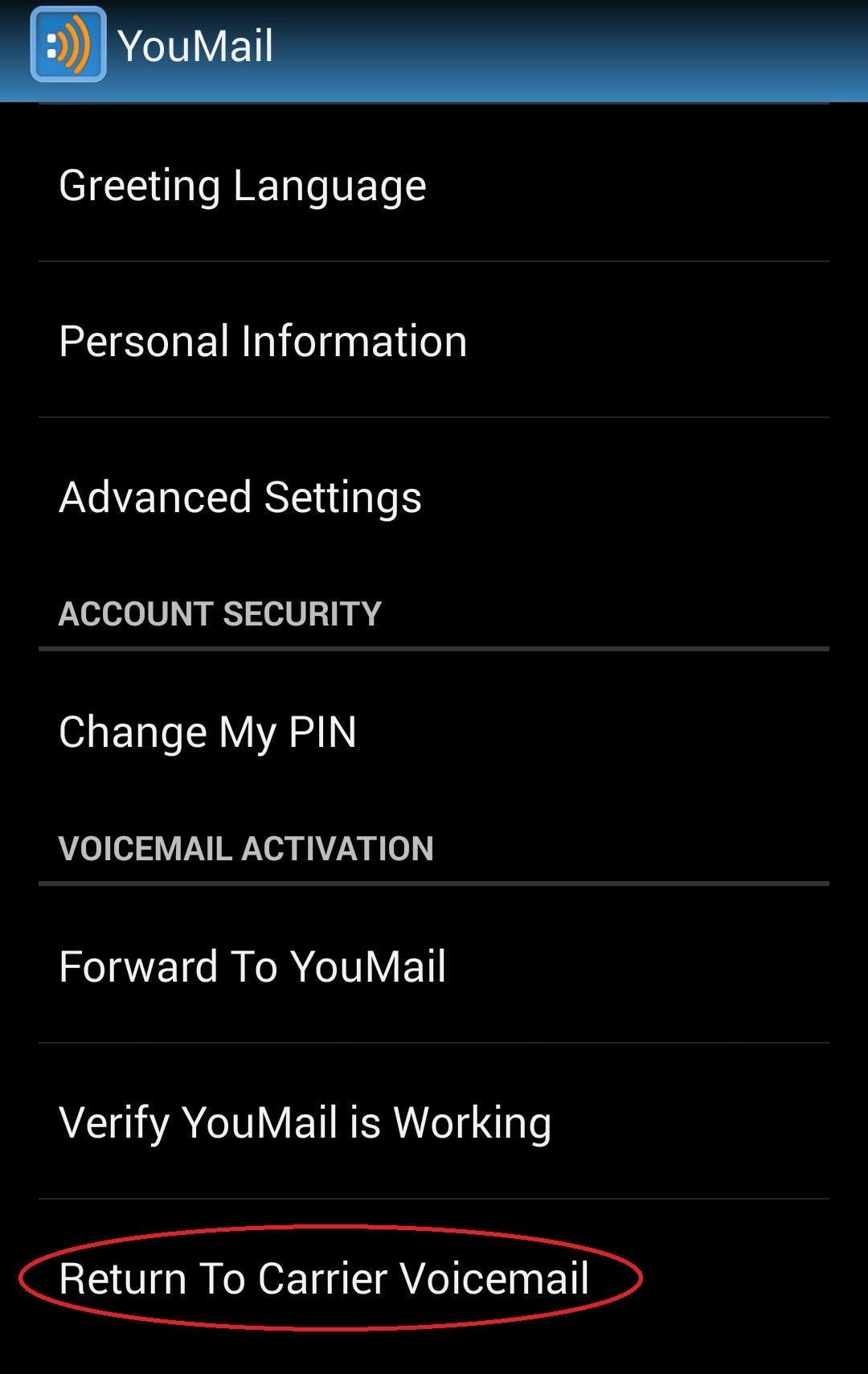 How to give your friends custom voicemail greetings unwanted youmail deserves a look from anyone simply looking for a visual voicemail alternative start customizing and toying with the greetings though m4hsunfo
