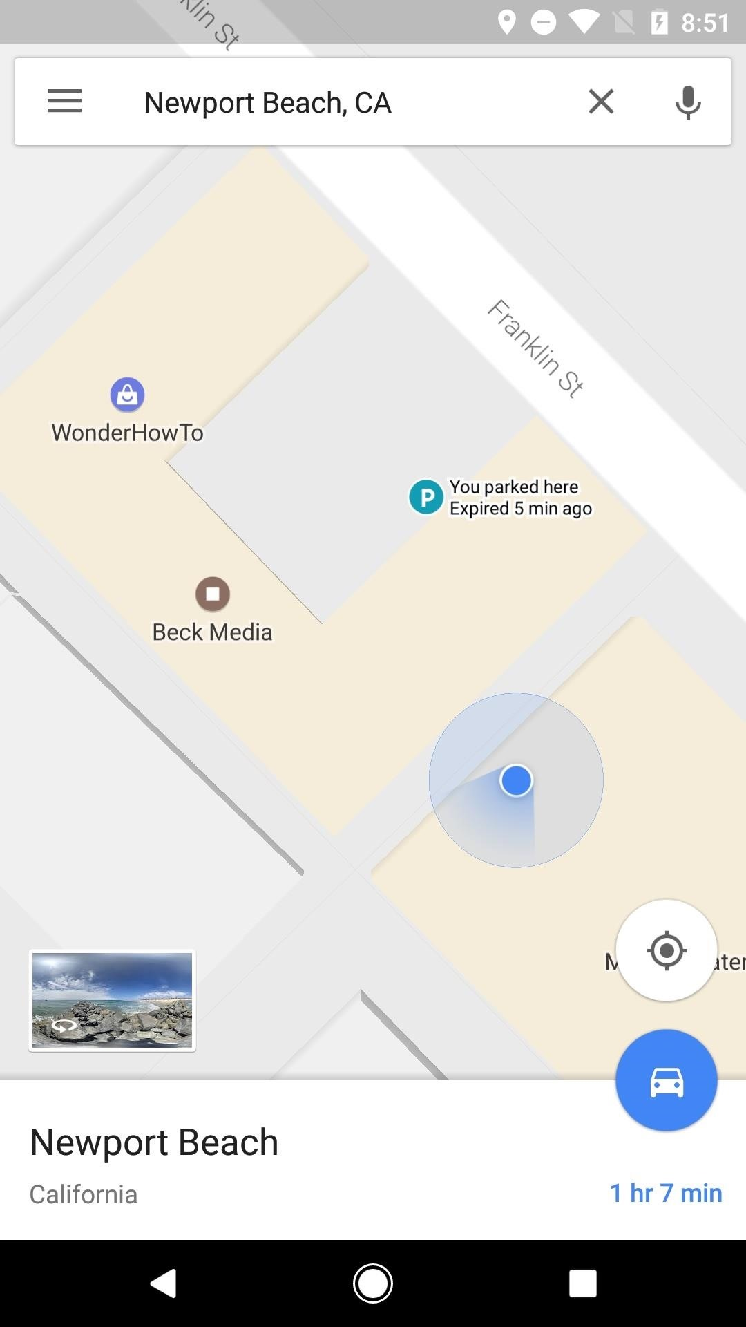 Google Maps V9.49 Beta Gets a Manual Parking Location Tracker & Weather Indicator