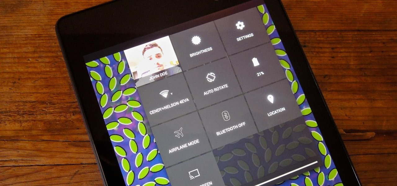 Access Notifications & Quick Settings from a Secured Lock Screen on Your Nexus 7