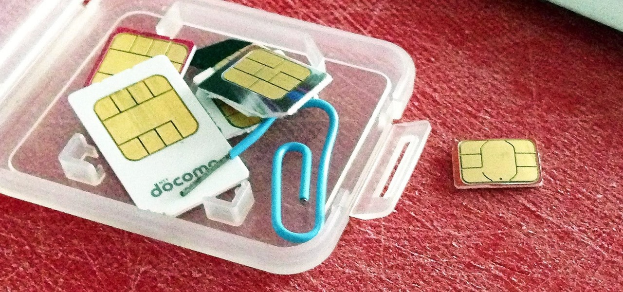 Convert a Micro SIM Card to Fit the Nano Slot on Your HTC One M8