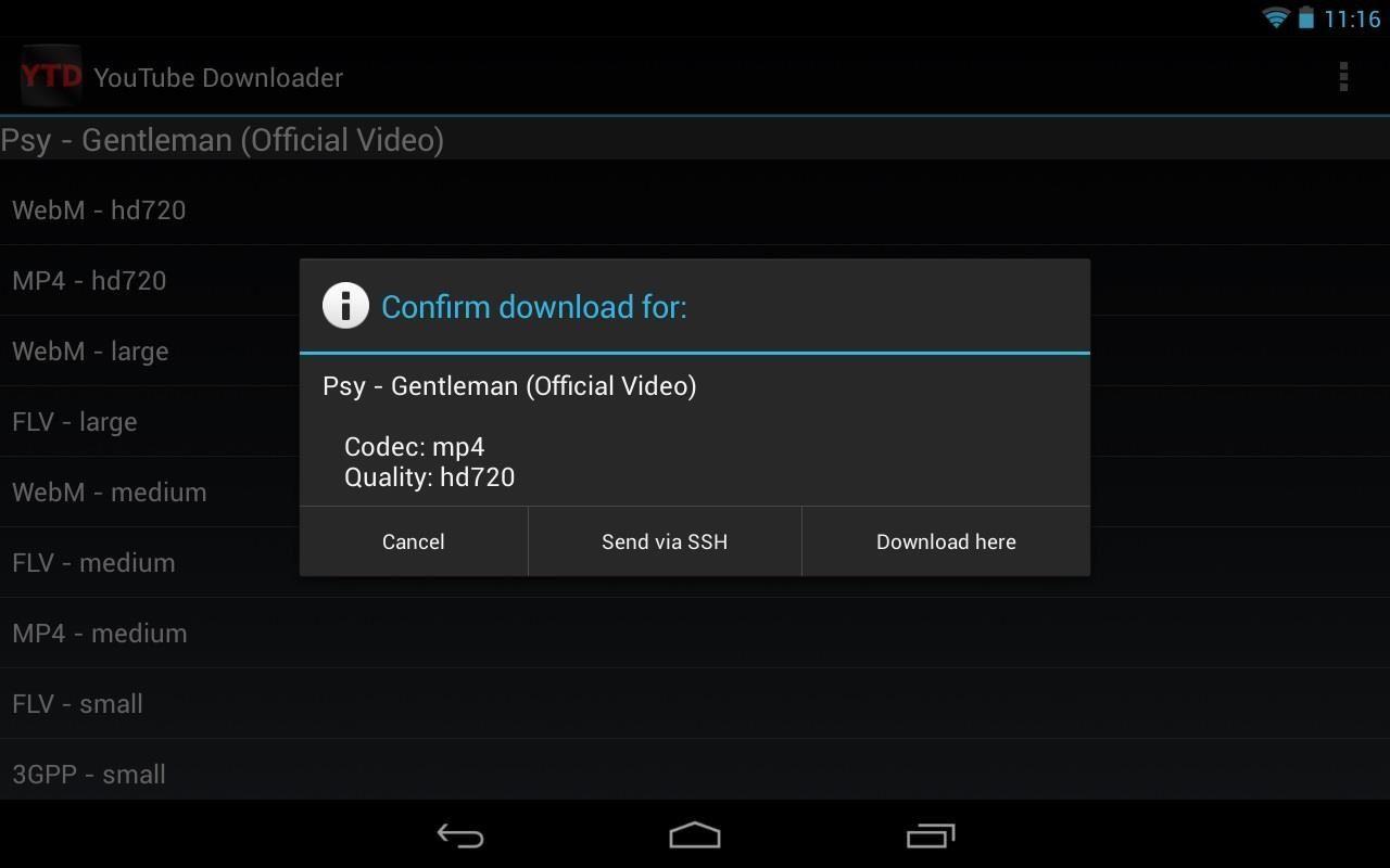 How to Watch YouTube Videos Offline on Your Nexus 7 Tablet « Nexus 7
