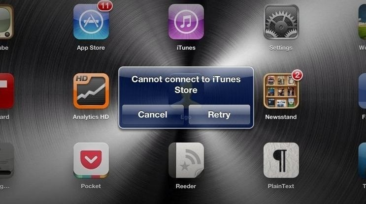 Can't Connect to the App Store in iOS 6 on Your iPhone or iPad? Try This Quick Fix