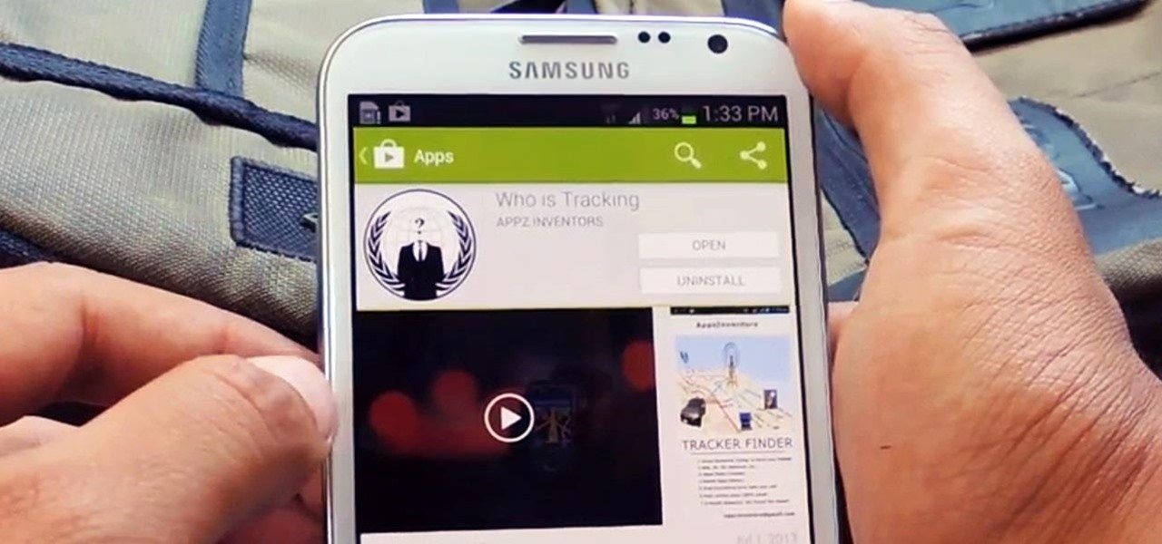 Find & Eradicate Android Apps Maliciously Tracking You on Your Samsung Galaxy Note 2