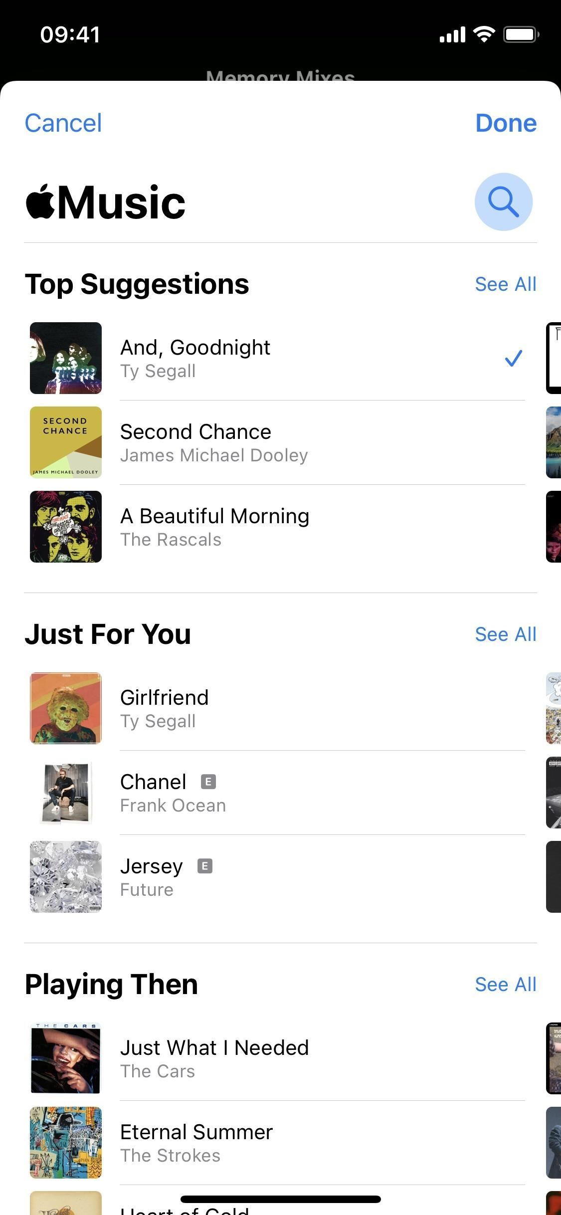How to Add Any Apple Music Track You Want to Your Memory Videos in iOS 15