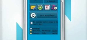 Set up a new email account on a Nokia N97 smartphone