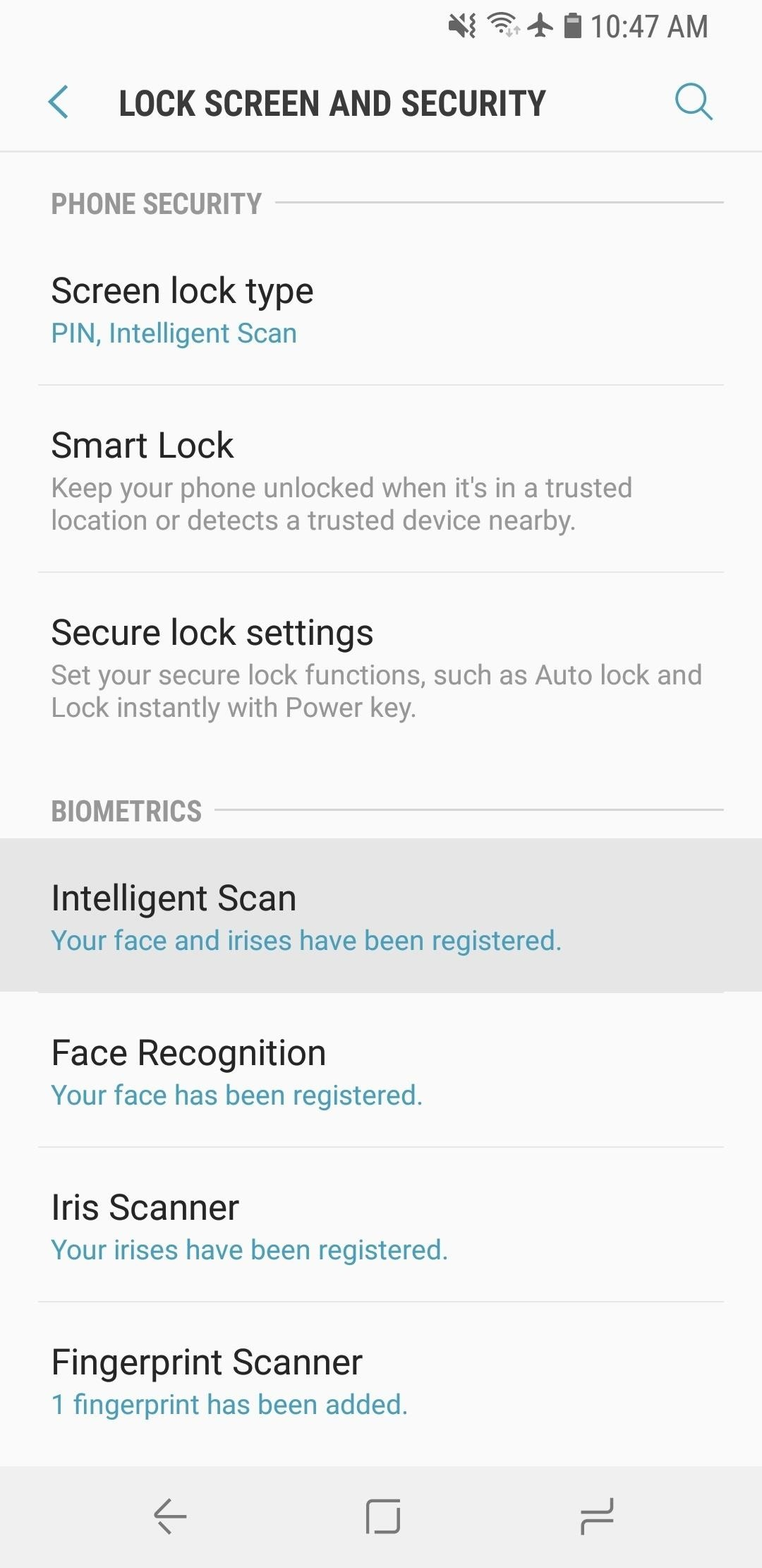 How to Use Intelligent Scan to Unlock Your Galaxy S9 Faster