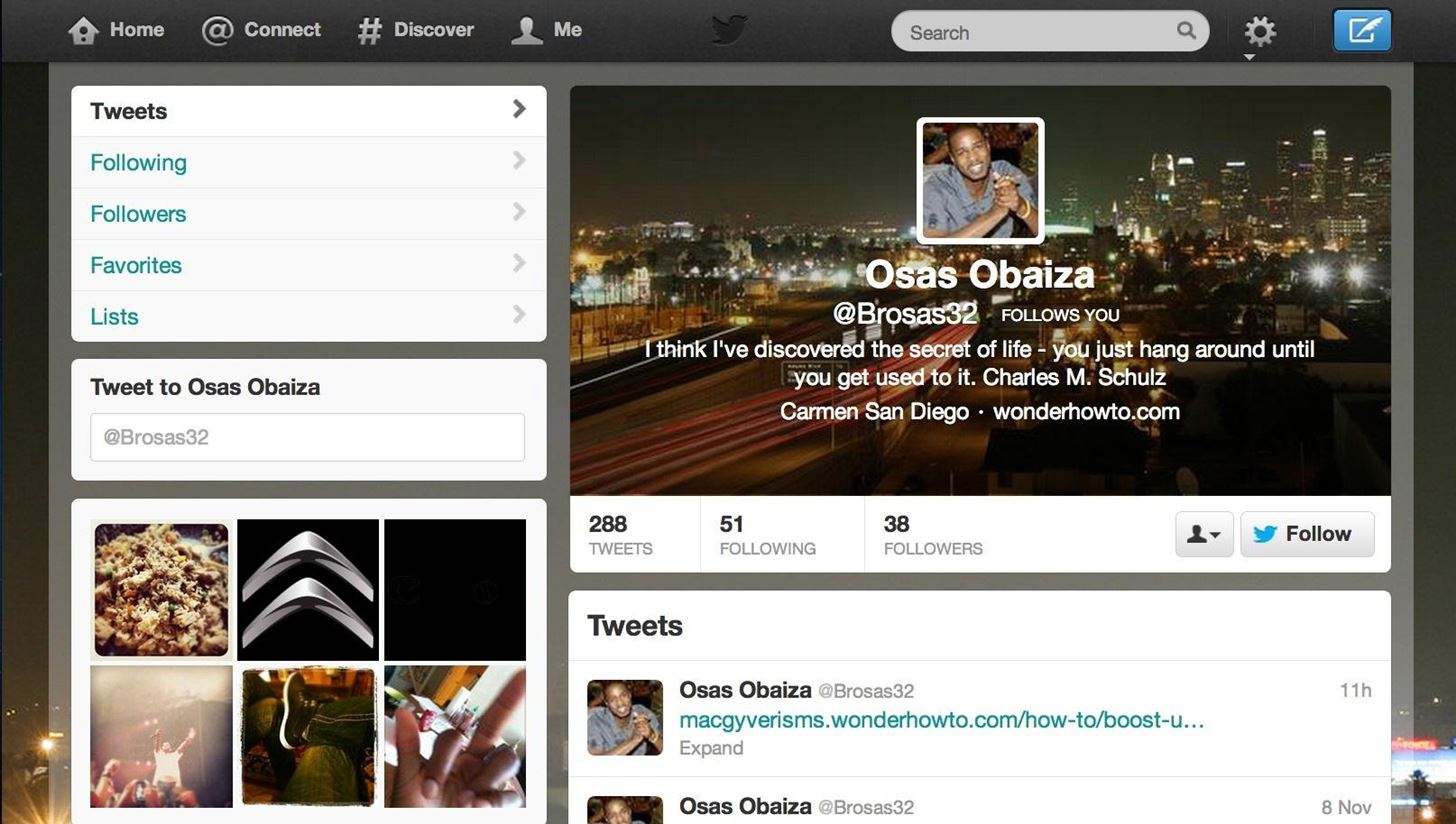 How to Beautify Your Twitter Account with Profile, Header, and Background Images