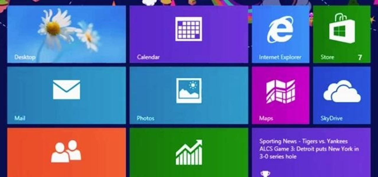 Manage Your Live Tiles in Windows 8