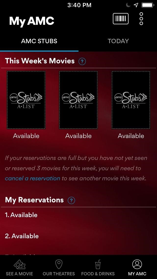 Ditch MoviePass for Stubs A-List if You Live Near An AMC