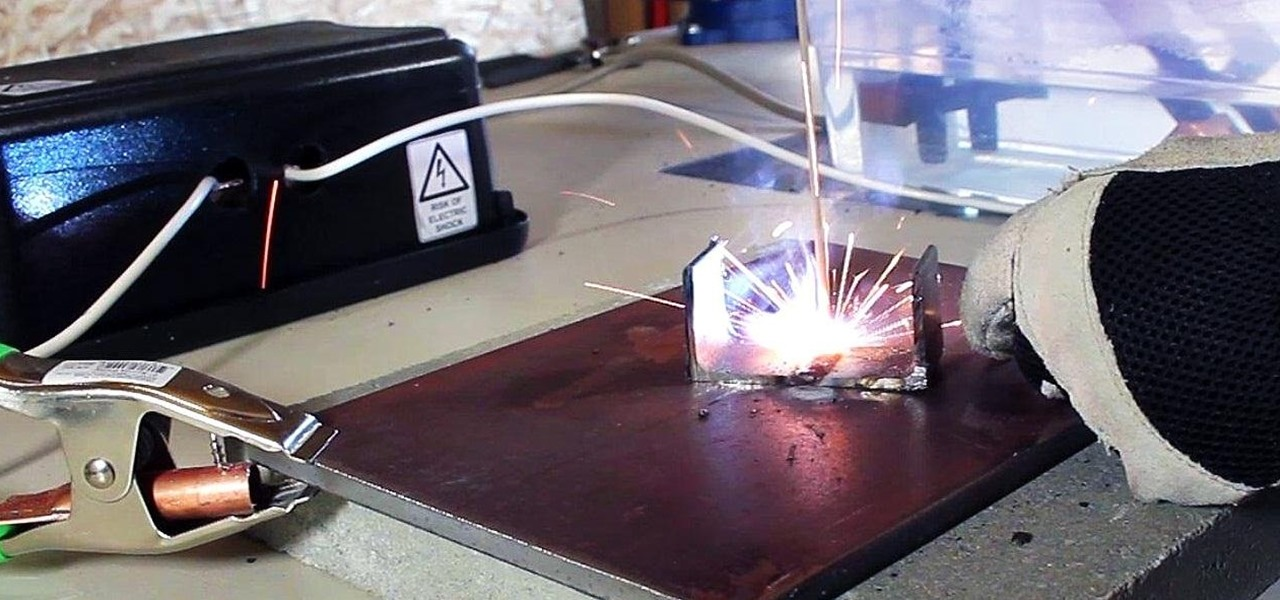 Make an AC Arc Welder Using Parts from an Old Microwave, Part 1