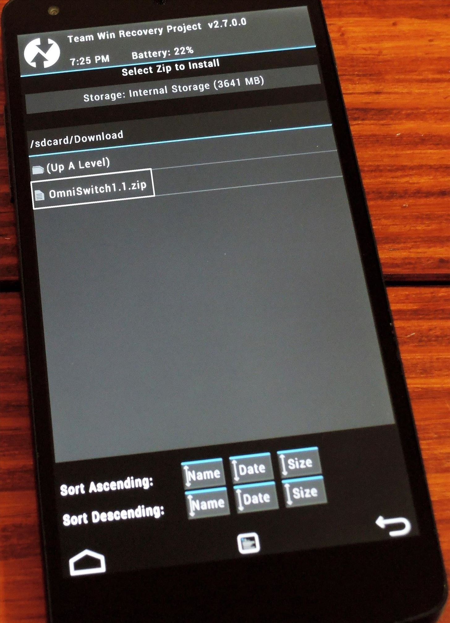 How to Install OmniSwitch for Streamlined Multitasking on Your Nexus 5
