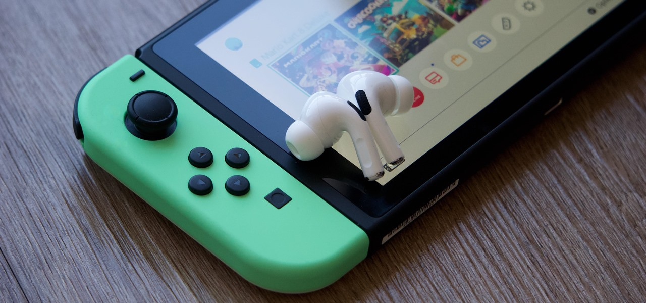 The Not-So-Obvious Way to Use AirPods with Your Nintendo Switch or Switch Lite