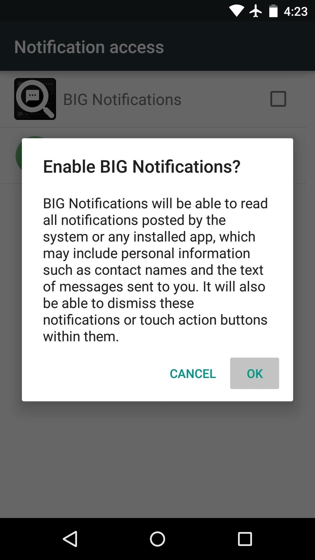 Enlarge Notifications on Android to Make Them Easier to Read