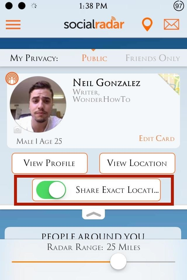 How to Get Real-Time Info on Friends Around You (Including Exact Location) Using Your iPhone