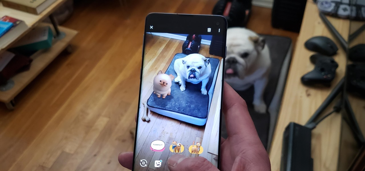 Add Interactive AR Characters to Your Videos with Google Camera