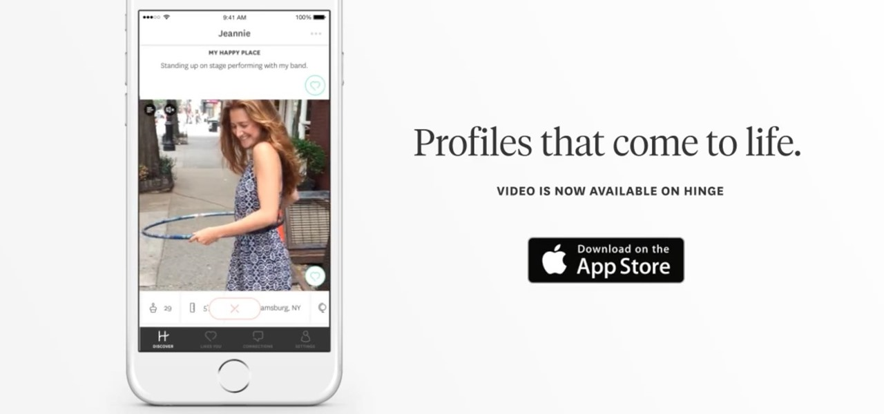 Dating App 'Hinge' Wants to Showcase the Real You with Video Clips