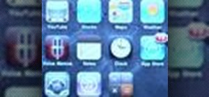 Use folders on an iPhone or iPod Touch running iOS 4