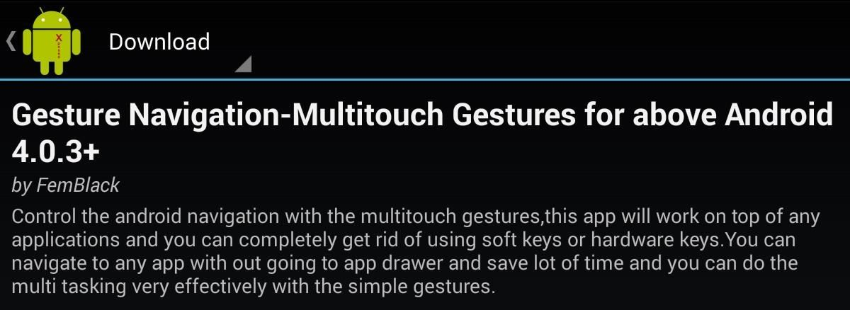 Add Custom Swipe Gestures to Your Nexus 7 for Better Control & Easier Navigation