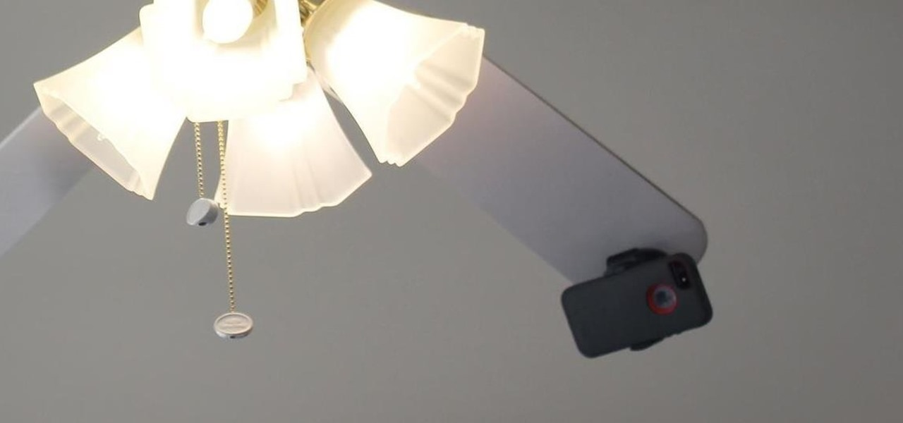 Take Spinning Video Footage from Above with a Ceiling Fan & Phone