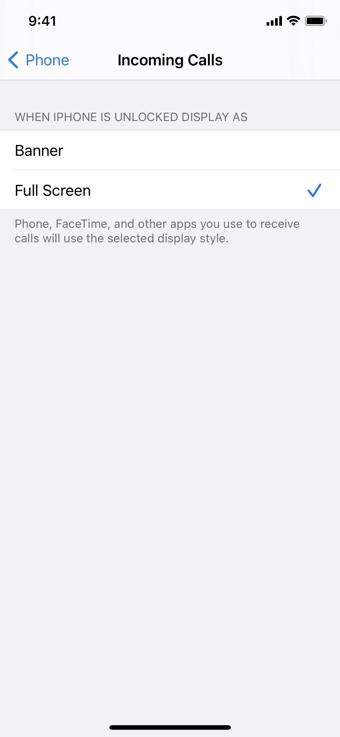 How to Bring Back Full-Screen Incoming Call Alerts for FaceTime, Phone & Other Calling Apps in iOS 14