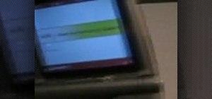 Access a hidden menu on a Verizon Motorola V3m Razor