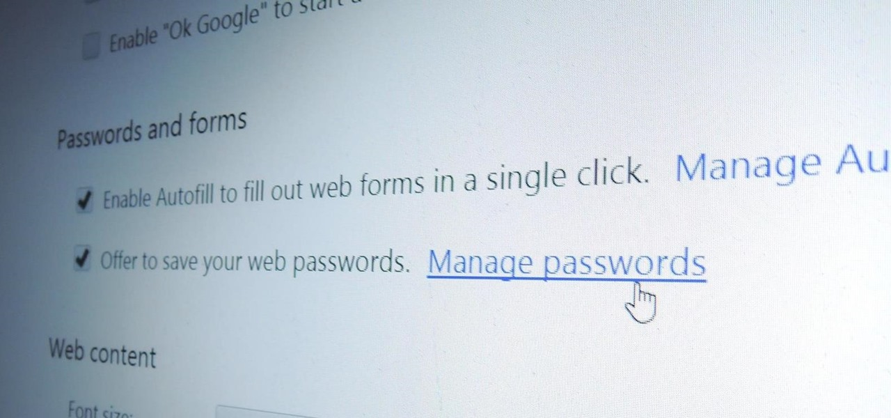 Manage Stored Passwords So You Don't Get Hacked