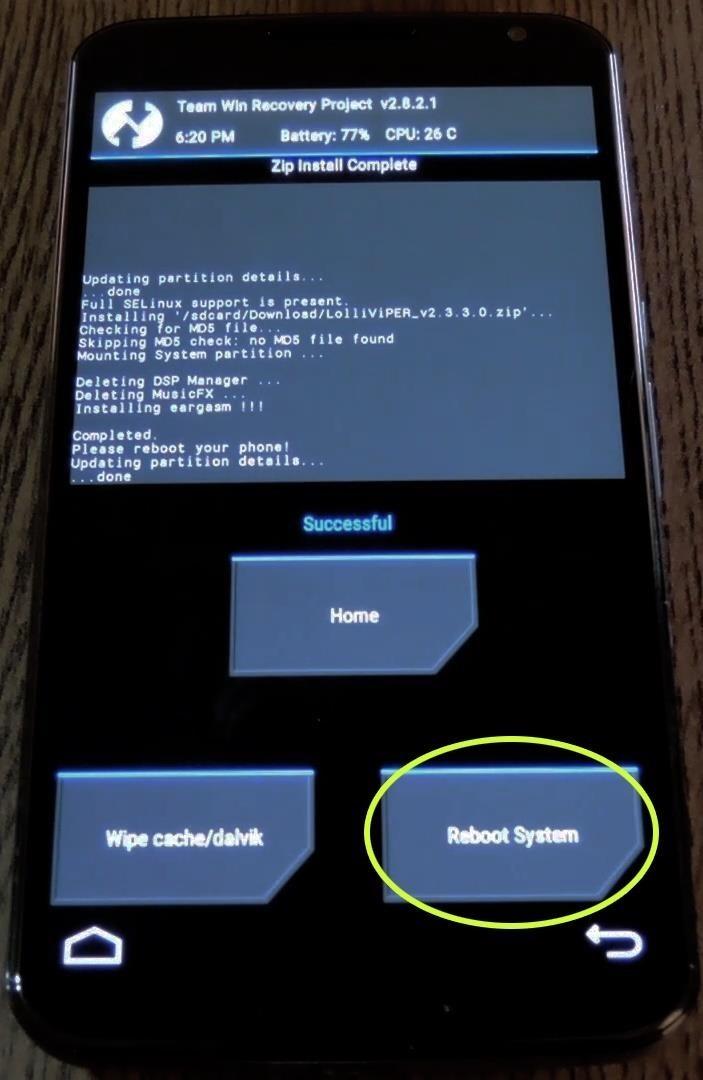 step 3install the viper audio mod