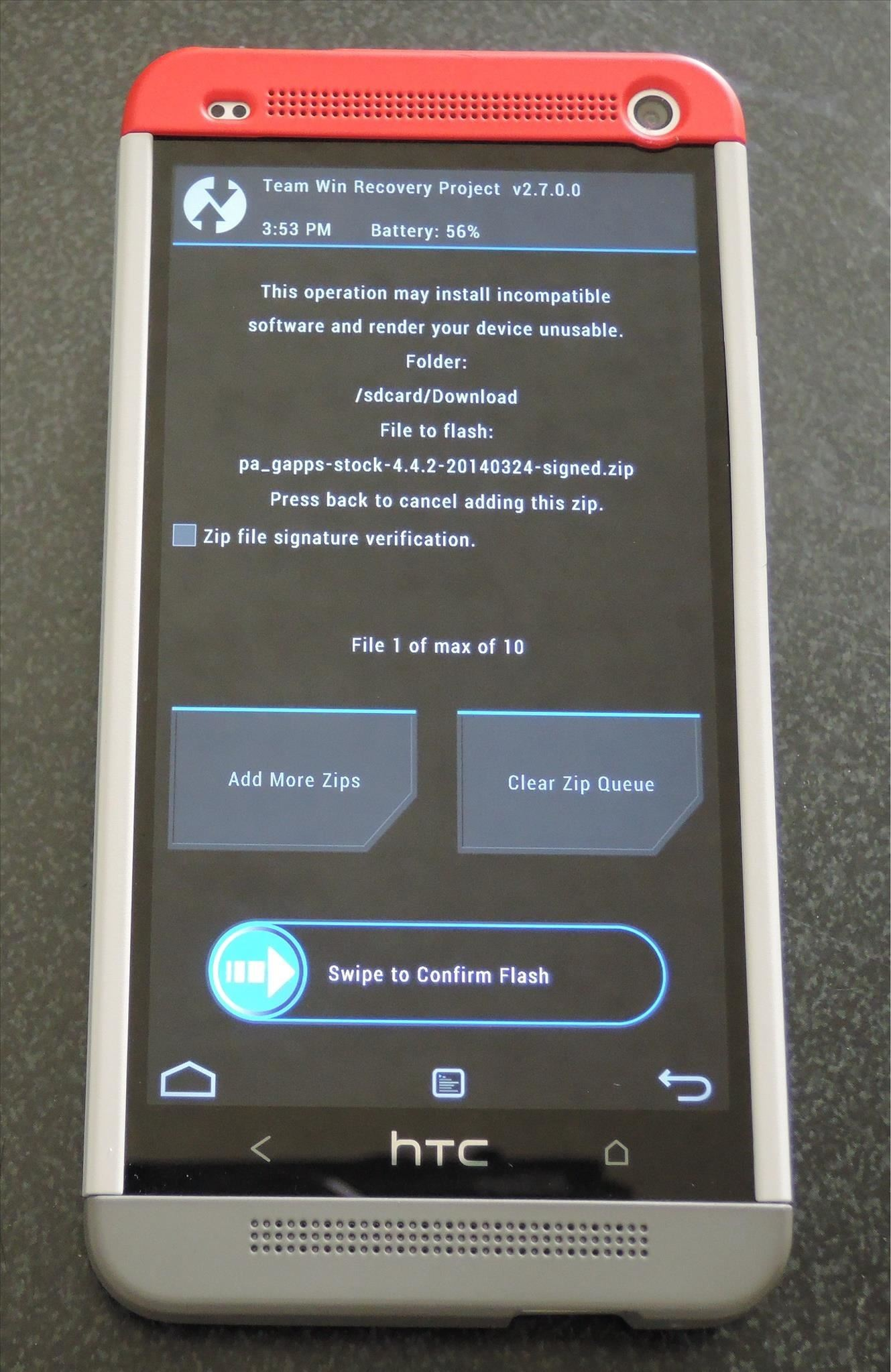 How to Install a Custom ROM on Your HTC One for a Completely New