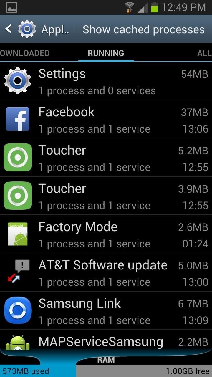 How to Monitor System Resources Right from the Notification Tray on Your Samsung Galaxy S3