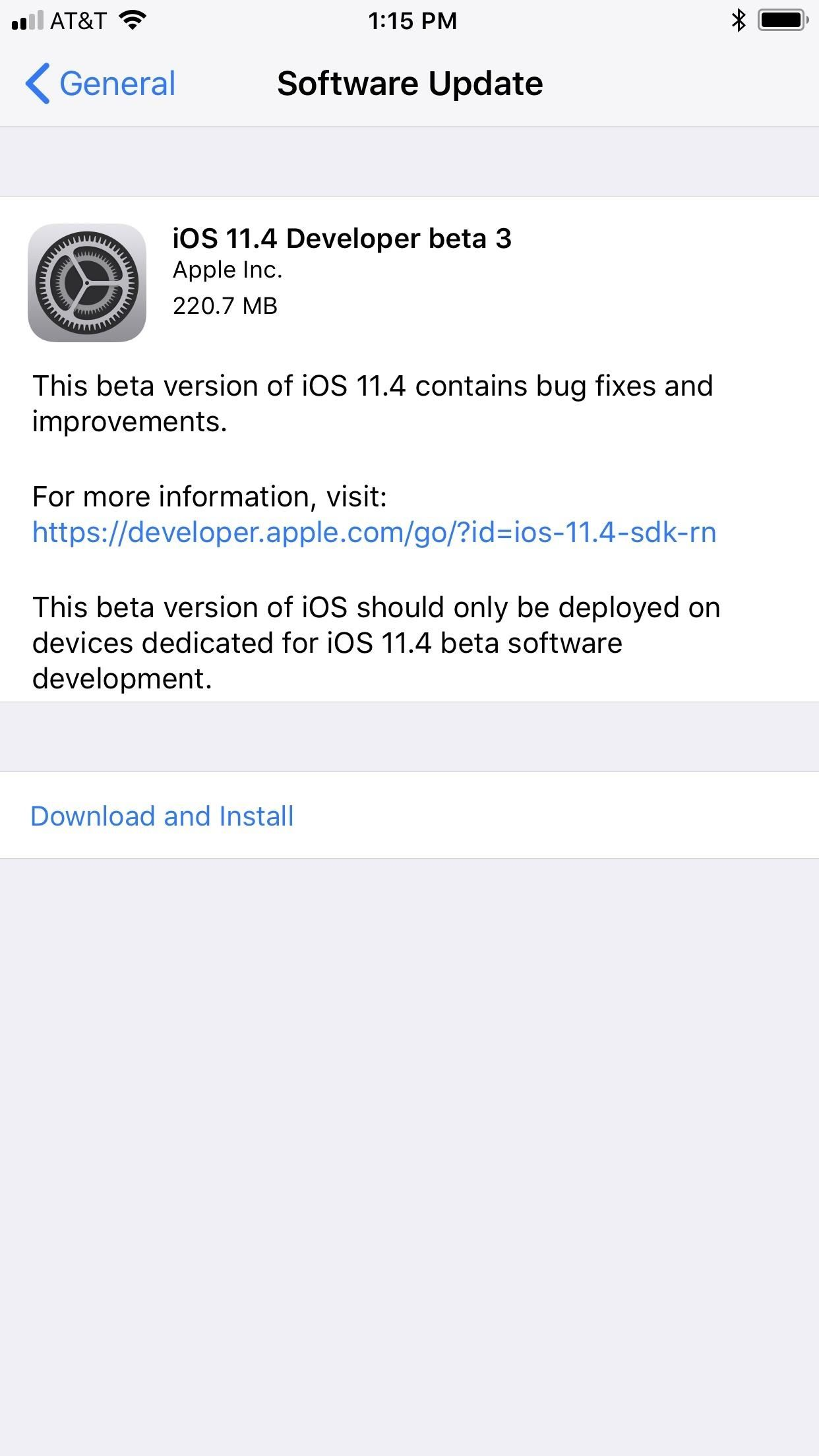 iOS 11.4 Beta 3 Released for iPhone, Fixes 3D Touch Issues & Other Bugs