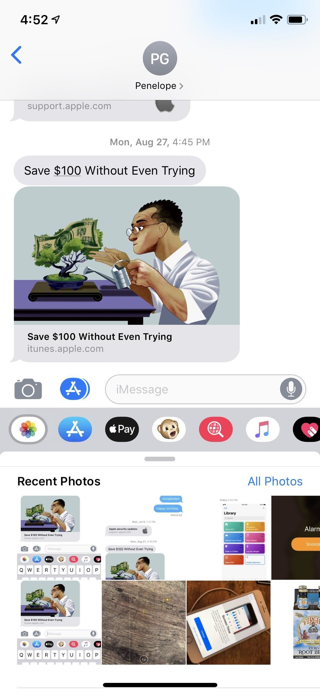 Sending Photos in Messages It's Just Much More Annoying in iOS 12