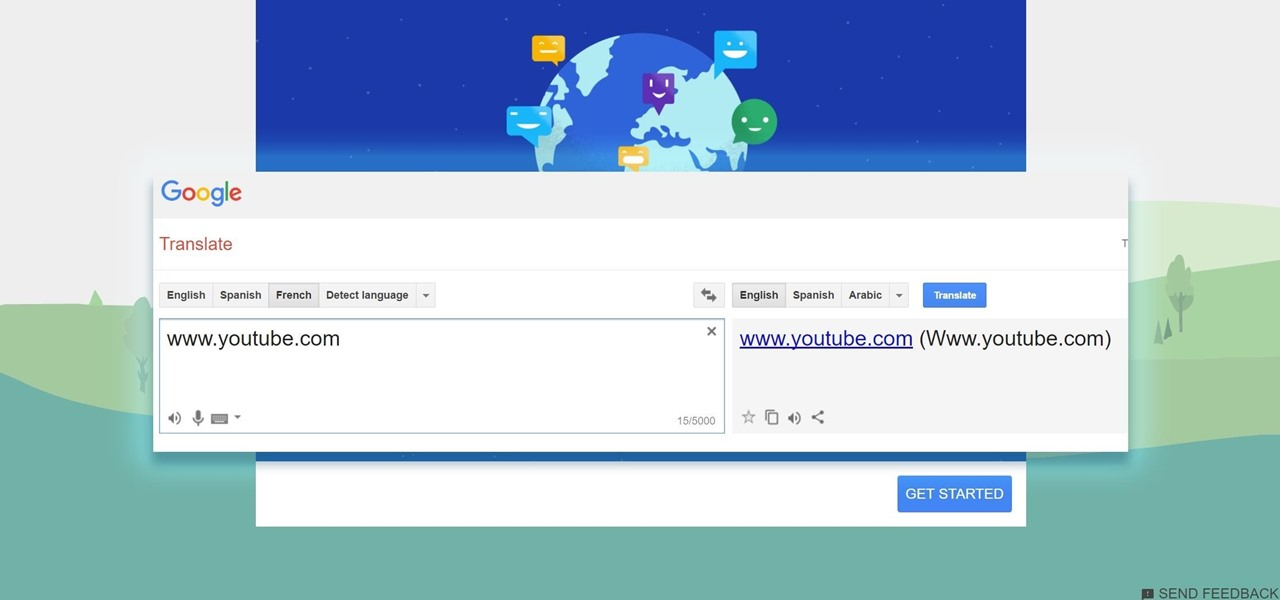 Use Google Translate as a Proxy