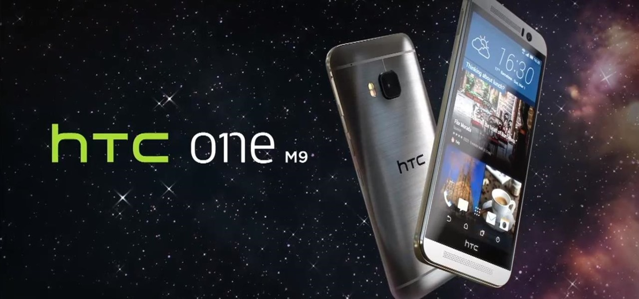 Here's Your Official Look at the New HTC One M9