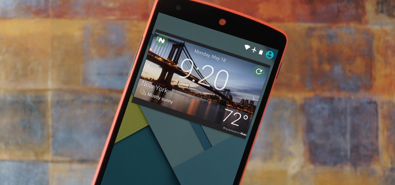 Add Custom Widgets to the Lock Screen on Android Lollipop